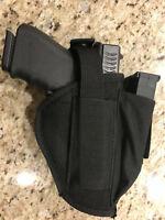 Ambidextrous holster right left belt gun pistol mag pouch MOLLE