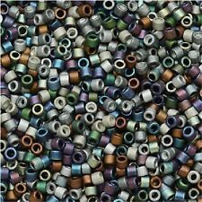 Miyuki Delica Seed Beads Size 11/0 Matte Heavy Metals Mix 7.2g (DB-MX24)