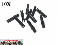 10X Lego® 6558 Technic lange Pins Verbinder 3L Schwarz Black