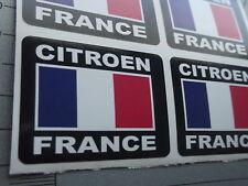 CITROEN FRANCE  Stickers 52mm Car  X4