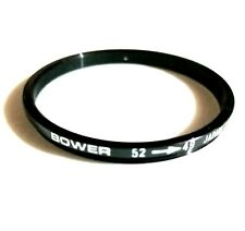Bower 52-49, Step Down Ring Filter Adapter for Camera Lens, 52mm - 49mm