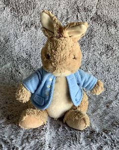 PeterRabbit Blue Jacket by Gund 8 inches sitting