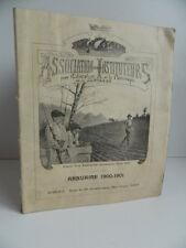Association des Instituteurs pour l'Education Patronage Jeunesse Annuaire 1900