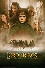 The Lord of the Rings Multi-Colour Art Posters