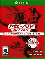 MX VS ATV All Out Anniversary Edition Xbox One Brand New Sealed