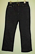 LEVIS WOMENS BLACK JEANS 512 PERFECTLY SLIMMING BOOT CUT 12 SHORT PETITE NICE