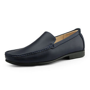 Men's Moccasins Loafers Dress Shoes Comfortable Slip On Drving Walking Shoes