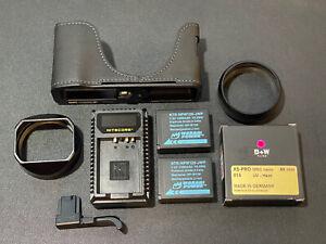 Fujifilm X100V Thumb Grip, Half Case, Lens Hood + More