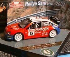 CITROEN XSARA WRC #18 SAN REMO RALLY 2003 VITESSE SEBASTIEN LOEB 1/43 ELENA