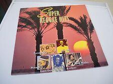 """Schallplatte LP Vinyl 12"""" """" Super Reggae Hits  -- Sound """" 1990"""