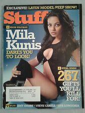 Mila Kunis Stuff Magazine December 2005