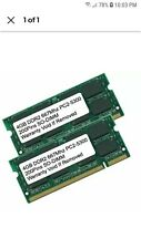 8GB Kit 2x 4GB DDR2 667 MHz PC2-5300 Sodimm Memory for IBM Lenovo HP Dell Laptop