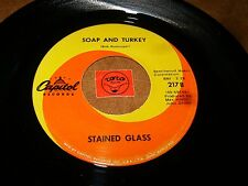 STAINED GLASS - SOAP AND TURKEY - LADY IN LACE    / LISTEN - PSYCH