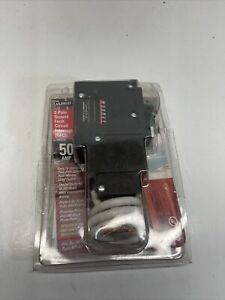 Murray Electrical Circuit Breaker 50-Amp 2-Pole GFCI Resists False Tripping