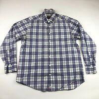 Vineyard Vines Mens Classic Fit Murray Long Sleeve Button Down Shirt Medium