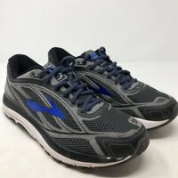 Brooks Mens Dyad 9 Athletic Running Shoes Blue Black Lace Up Low Top 9.5 EU 43