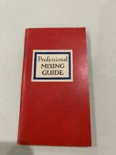 Vintage Cocktail Book Mixing Guide Angostura Bitters Bartending Bar Guide 1947