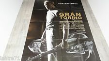 clint eastwood GRAN TORINO  ! affiche cinema cars , automobile , voiture