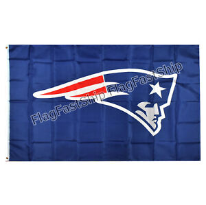 New England Patriots Flag 3X5 Banner American Football NFL FAST FREE Shipping
