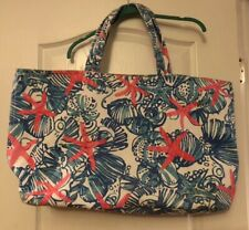 Lilly Pulitzer Large Palm Beach Tote Bag  She She Shells