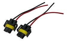 2x Stecker Reparatur H11 Birne WEIBLICH Sockel Fassung Lampen