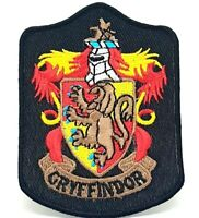 Harry Potter Gryffindor Long Iron Sew On Embriodered Patch 581