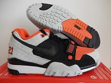 NIKE AIR TRAINER 2 PREMIUM QS BARRY SANDERS SZ 9.5 SAFARI RARE! [632193-002]
