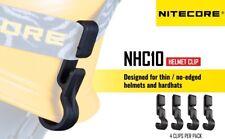 New Nitecore NHC10 Headlight Headlamp Helmet Hard Hat Clip