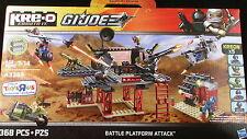 KRE-O GI JOE Tactical Battle Platform Cobra Commander Duke Trouble Bubble FANG