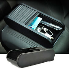 Car Roll Plastic Pocket Sliding Dash Pen Coins Case Storage Box Holder Container