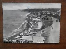 Vecchia foto cartolina d epoca di Torre del Greco litoranea spiaggia mare da per