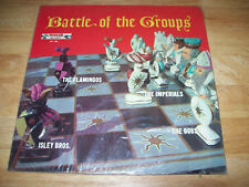 NEW 1960 Battle of the Groups MINT FLAMINGOS Dubs IMPERIALS ISLEY BROTHERS Free