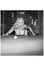 Model nude photo girl female print big busty breasts woman billiards JENNIE-sexy