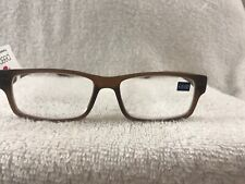 Peepers Reading Glasses Old Fashion Brown 3.00 NWT Free Shipping