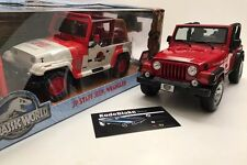 1992 Jeep Wrangler YJ 1/18 Jurassic World NEW!
