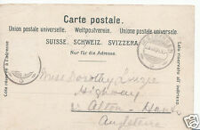 Genealogy Postcard - Family History - Linzie - Nr Alton - Hampshire  BR241