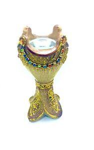 Beautiful Arabiyan style Coloured Decorative Bakhoor Incense Burner Patterned