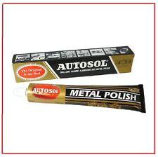 100g Autosol Solvol Chrome Polish Cleaner Aluminium & Metal Paste tube 75ml