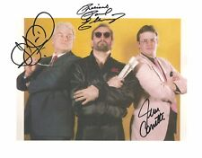 m986   JJ Dillon  Jim Cornette  Paul Ellering  signed Wrestling 8x10  w/COA