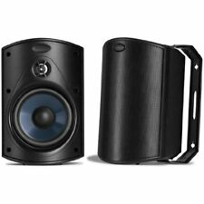 Atrium 4 Outdoor Speakers Pair Black