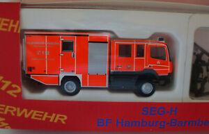 Berufsfeuerwehr Hamburg-Barmbek - SEG-H  - neuwertig - original Verpackung -TOP
