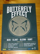 THE BUTTERFLY EFFECT - 2018  Australia Tour - Laminated Promo Poster