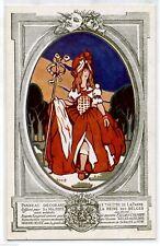 ALLARD L'OLIVIER Pro Soldati Invalidi Belgio Art Nouveau Teatro PC Circa 1915 3
