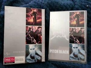 Chronicles Of Riddick  / Doom  / Pitch Black, DVD REGION 4, VGC, FREE SHIPPING