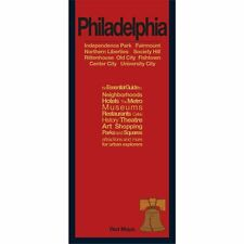 Red Maps Philadelphia CURRENT EDITION - City Travel Guide