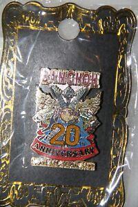 Hard Rock Bangkok 20th. Anniversary pin A1