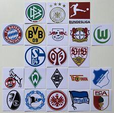 More details for 21pcs germany bundesliga 2020-2021 logo flexible magnets