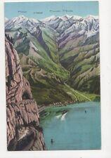 Gotthardbahn Nordseite Vintage Postcard Switzerland 393a
