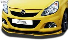 RDX Front Spoiler OPEL Corsa D OPC -2010 Nuerburgring Edition