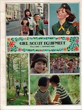 VINTAGE 1965-66 GIRL SCOUT EQUIPMENT CATALOG - 23 PAGES